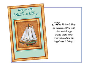 A Day That's Long Remembered ~ Father's Day Card