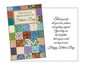 Patience and Guiding Support ~ Father's Day Card