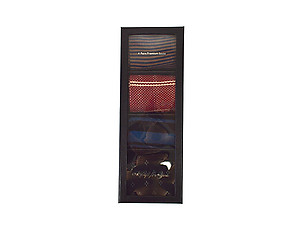 Men's Fancy Multi Colored Socks Gift Box ~ 4 pair ~ Style 0618