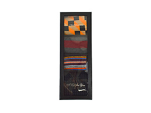 Men's Fancy Multi Colored Socks Gift Box ~ 4 pair ~ Style 0624
