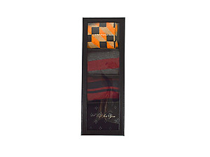 Men's Fancy Multi Colored Socks Gift Box ~ 4 pair ~ Style 0628