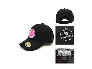 #1 Grandma Black Embroidered Baseball Hat Cap w/ Adjustable Velcro Closure