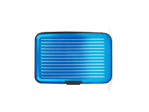 Turquoise Aluminum Wallet Credit Card Holder With RFID Protection
