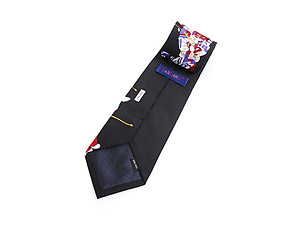 Men's Hockey Polyester Printed Novelty Tie