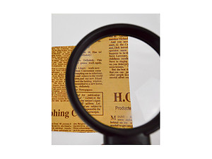 Boxed Handheld Magnifier Reading Magnifying Glass with LED Lights