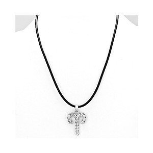 Aries Crystal Pave Zodiac Pendant Necklace