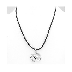 Cancer Crystal Pave Zodiac Pendant Necklace