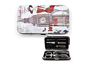 London Big Ben Romantic Journey Manicure Set