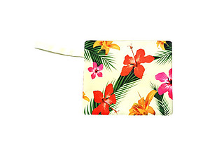 Water Resistant Floral Wet Bikini Beach Clutch Bag