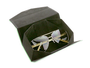 Colorful Rectangular Foldable Eyeglass/Sunglass Case with Magnet Closure