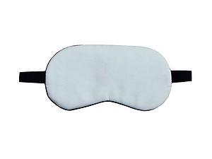 Blue Reusable Hot/Cold Eye Mask & Soothing Gel Pack for Sleep or Travel