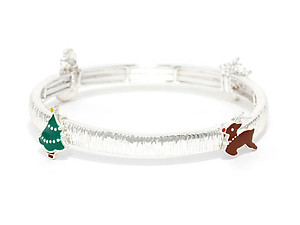 Christmas Charm Stretchable Bracelet