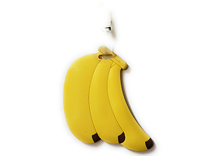 Banana Trio ~ Travel Suitcase ID Luggage Tag and Suitcase Label