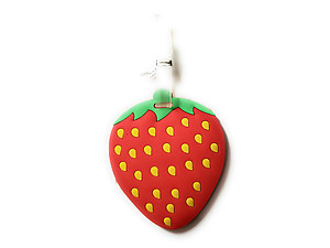 Red & Yellow Strawberry ~ Travel Suitcase ID Luggage Tag and Suitcase Label