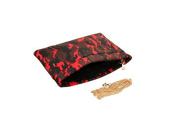 Camouflage Faux Leather Fashion Clutch Bag