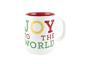 About Face Designs Joy To The World Mug