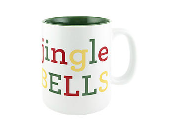 About Face Designs Jingle Bells Coffee Mug