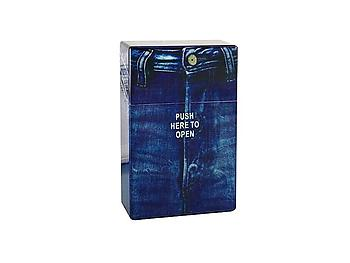 Blue Jeans Look Cigarette Case for 100`s