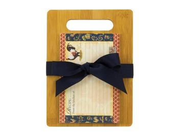 Chateau Rooster Cutting Board Gift Set