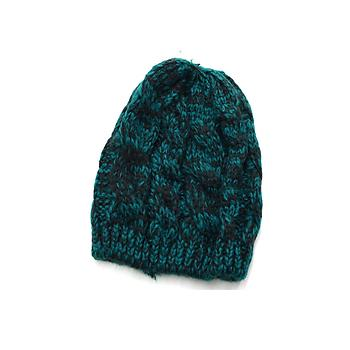 Teal Unisex Thick Winter Knit Beanie Hat Cap Headgear