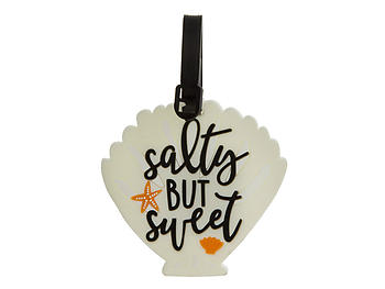 Salty But Sweet ~ Travel Suitcase ID Luggage Tag and Suitcase Label