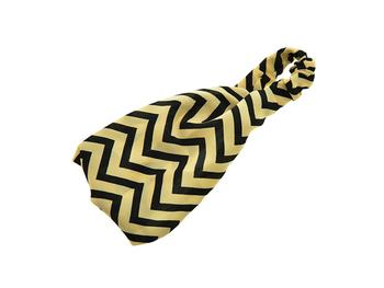 Black & Cream Chevron Headband