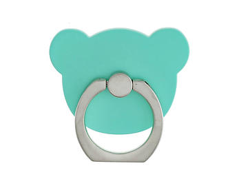 Aqua Bear Head Premium Universal Smartphone Mount Ring Hook