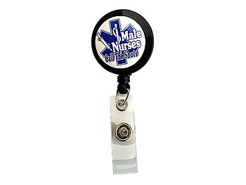 Call The Shots ~ Male Nurse Retractable Badge Holder