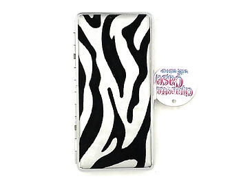 Double Sided Cigarette Case w/ Mirror fits 100s