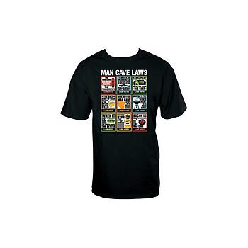 Man Cave Laws Graphic Tee