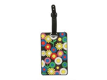 Flowers ~ Travel Suitcase ID Luggage Tag and Suitcase Label