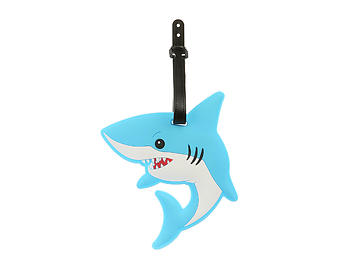 Blue Shark ~ Travel Suitcase ID Luggage Tag and Suitcase Label
