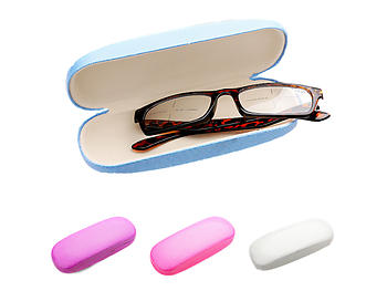 Bling Print Small Hard Clamshell Eyeglass / Sunglass Case