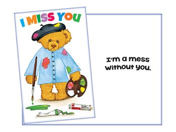 A Mess Without You ~ Thinking Of You Greeting Card