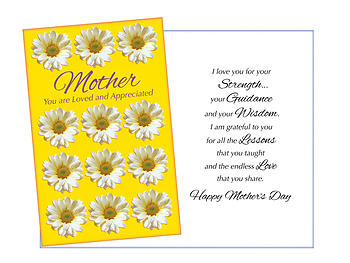 All The Lessons ~ Mother's Day Card
