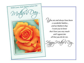 A Wonderful Mother ~ Mother's Day Card