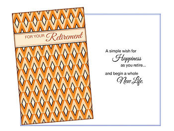A Simple Wish ~ Retirement Card