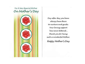 Day After Day ~ Mother's Day Card