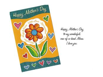 One-Of-A-Kind Mom ~ Mother's Day Card