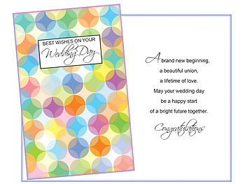 A Lifetime Of Love ~ Wedding Day Card