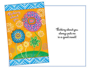 A Good Mood ~ Thinking Of You Card