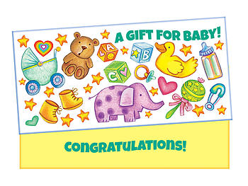 A Gift For Baby ~ Gift Card / Money Holder