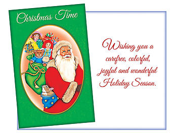 Joyful And Wonderful ~ 6 Pack Holiday Greeting Cards