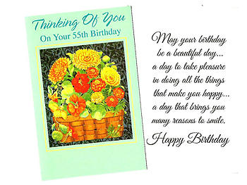 Many Reasons To Smile ~ Happy Birthday Card