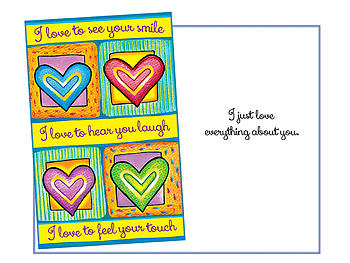 Everything About You ~ Expressions of LOVE Greeting Card