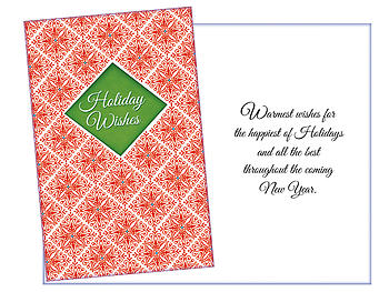 All The Best ~ 6 Pack Holiday Greeting Cards