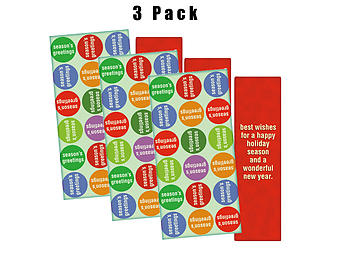 A Happy Holiday Season ~ 3 Pack ~ Christmas Holiday Gift Card or Money Holder