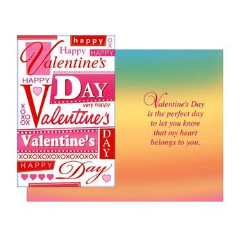 The Perfect Day ~ Valentine's Day Card