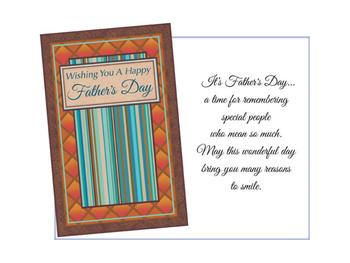 A Time For Remembering ~ Father's Day Card