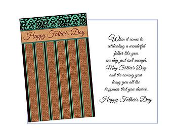 Wonderful Father Like You ~ Father's Day Card